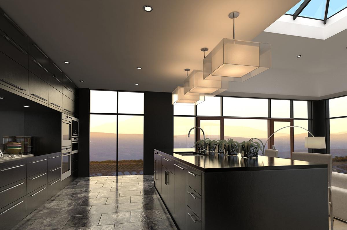 Design ideas - modern luxury kitchen interior